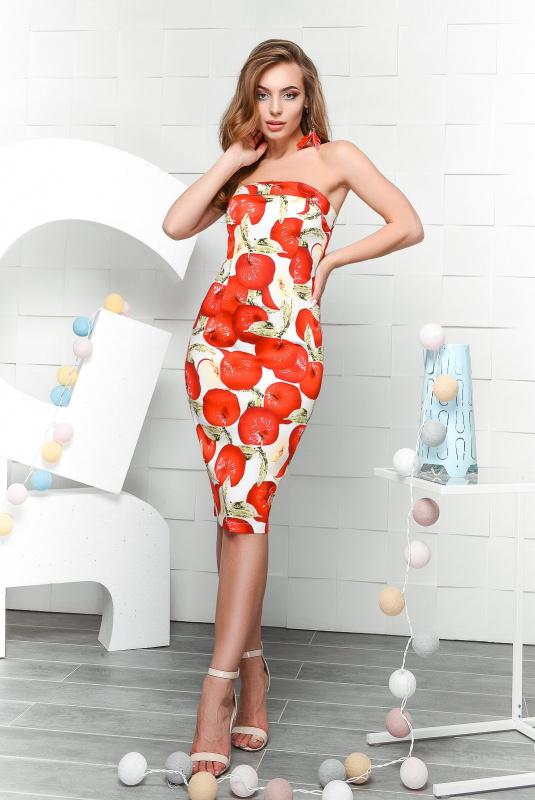 6f600c94fecf Платье Carica KP-10213-8 купить оптом по цене от 998 грн.